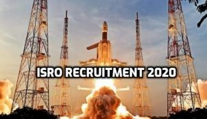 ISRO Recruitment 2020: Hiring begins for various posts; 18 years can apply