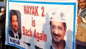 Arvind Kejriwal oath ceremony: 'Nayak 2 is back again', posters at Ramlila Maidan reads