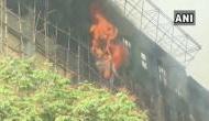 मुंबई के GST भवन में लगी भीषण आग, मौके पर दमकल की 16 गाड़ियां