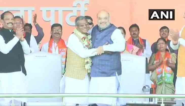 Former Jharkhand CM Babulal Marandi joins BJP