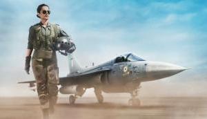फाइटर जेट उड़ाते दिखेंगी कंगना रनौत, अप-कमिंग फिल्म Tejas में पहला लुक हुआ जारी