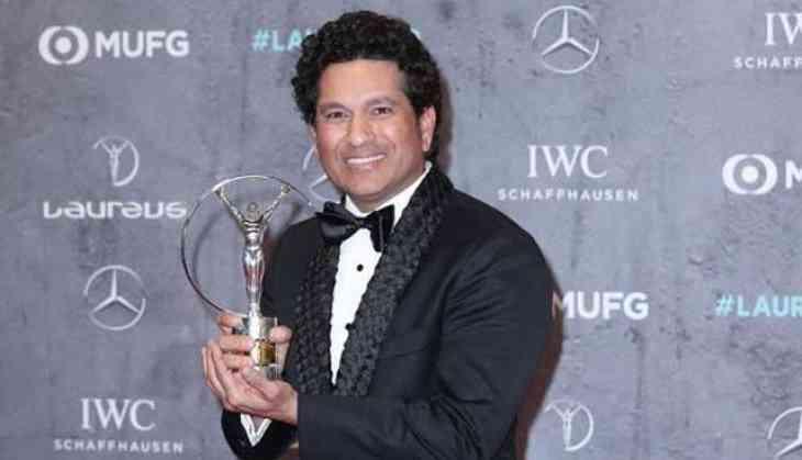 Sachin Tendulkar at Laureus Awards ceremony: 'I feel this trophy belongs to all of us'