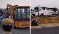 Tamil Nadu: Bus-Truck collision in Tirupur; 9 dead