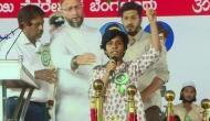 ओवैसी के मंच से लड़की ने लगाया 'पाकिस्तान जिंदाबाद' का नारा, पिता ने कहा- वह कुछ मुस्लिमों के संगत में