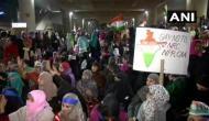 शाहीन बाग के बाद अब दिल्ली के जाफराबाद में CAA के खिलाफ महिलाओं का प्रदर्शन