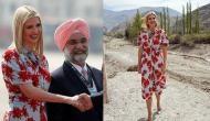 साल भर पुरानी ड्रेस पहनकर भारत आईं इवांका ट्रंप, कीमत इतनी सस्ती कि आप कहेंंगे बस