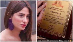 DPIFF takes legal action against BB 13's Mahira Sharma for forging Dadasaheb Phalke Award Certificate
