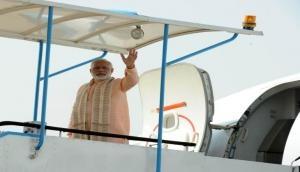 Donald Trump India visit: PM Narendra Modi arrives in Ahmedabad