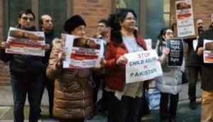 Protest outside UN office in London to seek justice for Mehak Kumari