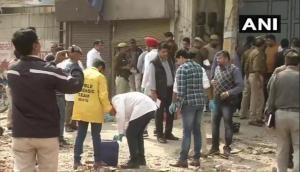Delhi Violence: Forensic team collects evidence from Tahir Hussain's factory