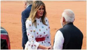 US First Lady Melania Trump thanks President Kovind, PM Modi for warm welcome