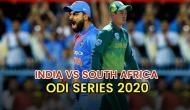 IND vs SA ODI Series: जानिए कब और कहां होंगे मुकाबले और यहां देखें LIVE