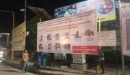 Yogi govt action against CAA protesters: Hoardings installed with names, photos of accused in Lucknow