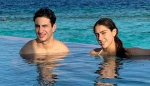 Coolie No 1 actress Sara Ali Khan gets trolled for bikini pose with brother Ibrahim Khan; targets her 'religion'