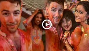 Isha Ambani's Holi Party: Watch Nick Jonas 'first-ever' Holi celebration with wife Priyanka Chopra in India