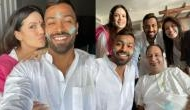 Hardik Pandya celebrates Holi with fiancée Natasa Stankovic [Pics]