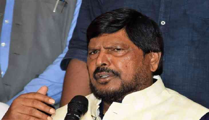 Ramdas Athawale demands suspension law for MPs creating ruckus in Parliament