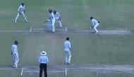 रणजी ट्राफी के फाइनल मुकाबले में मैच से 'गायब' हो गया अंपयार