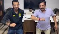 युजवेंद्र चहल ने अपने पिता के साथ शेयर किया मजेदार वीडियो, सोशल मीडिया पर वायरल