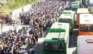 सुप्रीम कोर्ट में सरकार ने बताया- लॉकडाउन के बाद 600,000 लोग पहुंचे पैदल अपने गांव