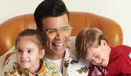 Karan Johar's munchkins Yash, Roohi troll father's dressing sense [VIDEO]