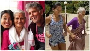 Watch Milind Soman's 80-year-old mother working out with his wife Ankita amid lockdown; video will leave you motivated
