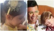 Karan Johar teams up with son Yash to mock mother Hiroo and Roohi's hairband [VIDEO]