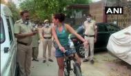 Delhi: Uruguayan woman flouts coronavirus lockdown norms; argues with cops