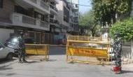 Containment zones in Delhi down to 158