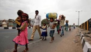 Amid lockdown Jharkhand govt sends 15 buses to Chhattisgarh to bring back stranded migrant labourers
