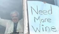 लॉकडाउन के दौरान खत्म हो गई 82 साल की दादी की वाइन, मंगाने के लिए अपनाया ये तरीका, फोटो वायरल