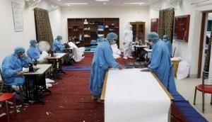Coronavirus: CRPF jawans switch roles to help nation; produces COVID-19 masks