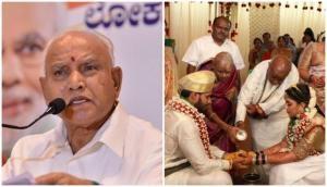 Karnataka CM BS Yediyurappa defends wedding of HD Kumaraswamy's son during lockdown