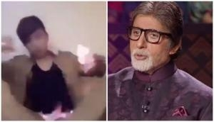 Amitabh Bachchan gets worried for boy who caught fire while trying stunt; asks 'Aage kya hua, aag bhuji ki nahi?'