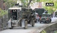 जम्मू-कश्मीर के शोपियां में सुरक्षाबलों और आतंकियों के बीच मुठभेड़, दो आतंकी ढेर