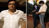 Arnab Goswami, wife attacked in Mumbai, two arrested