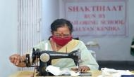 कोरोना संकट: राष्ट्रपति रामनाथ कोविंद की पत्नी गरीबों के लिए अपने हाथों से सिल रहीं मास्क, देखकर करेंगे सलाम