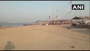 UP: Triveni Sangam at Prayagraj wears deserted look this Akshaya Tritiya