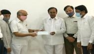 Coronavirus: Telangana State Electricity agencies' employees donate Rs 11.40 crore to CMRF