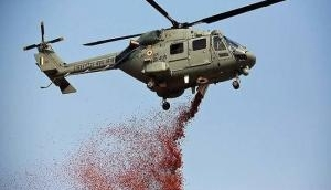 IAF choppers showers flowers on National Police Memorial in Delhi, other places