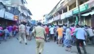 Kerala: Police resort to lathi-charge to disperse protesting migrant workers in Ernakulam