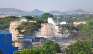 Visakhapatnam: Gas fumes leak again from tanker