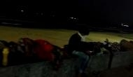 Visakhapatnam Gas Tragedy: Evacuated people sleep on-road along Ramakrishna Beachpost mishap