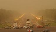 Dust storm, light rains hit Delhi