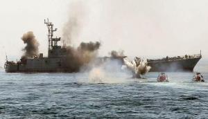 सैन्य अभ्यास के दौरान ईरान से हुई बड़ी गलती, मिसाइल से उड़ा दिया अपना ही जहाज, 19 की मौत