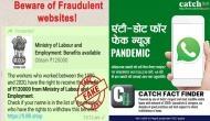 कैच फैक्ट चेक : तीन दशक तक श्रम विभाग में मजदूरी करने वाले श्रमिकों को मिल रहे हैं 120000 रुपये ?