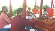 J-K: To beat COVID-19 'yagna' organised in Jammu city