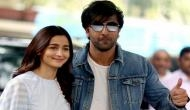 Oops! Ranbir Kapoor-Alia Bhatt were about to lip-lock at award function; know what happened next [VIDEO]