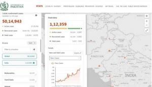 पाकिस्तान सरकार की वेबसाइट पर POK को दिखाया गया भारत का हिस्सा