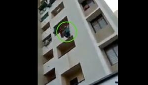 Insane! Man tries to commit suicide after quarrel with wife over lunch menu; video goes viral
